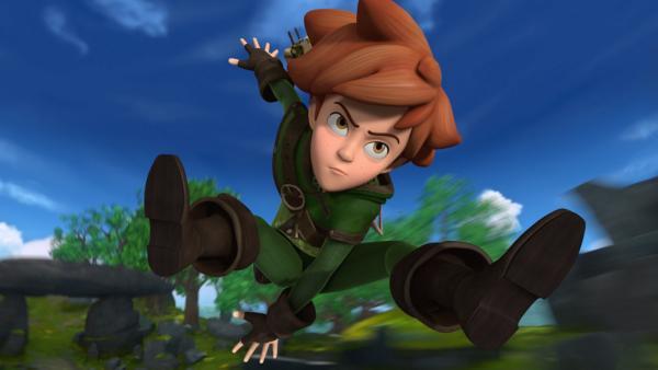 Robin Hood eilt Marian zu Hilfe. | Rechte: ZDF/Method Animation/DQ Entertainment/Fabrique d'images/ZDF Enterprises/De Agostini