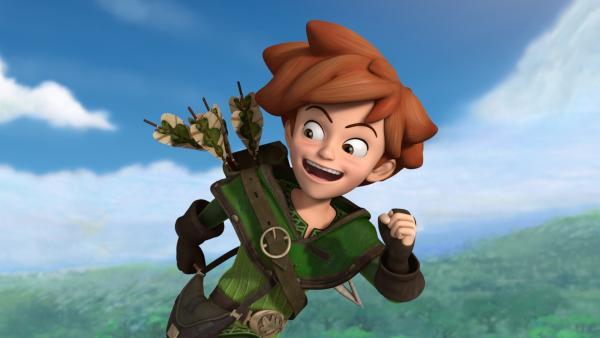 Robin Hood kämpft mutig, kühn und listenreich in Sherwood Forest gegen den Königssohn Prinz John und seine Bande.   Rechte: ZDF/Method Animation/DQ Entertainment/Fabrique d'images/ZDF Enterprises/De Agostini