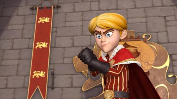 Prinz John ist siegessicher. | Rechte: ZDF/Method Animation/DQ Entertainment/Fabrique d'images/ZDF Enterprises/De Agostini