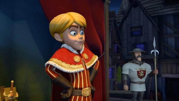 Prinz John veranstaltet ein großes Fest. | Rechte: ZDF/Method Animation/DQ Entertainment/Fabrique d'images/ZDF Enterprises/De Agostini