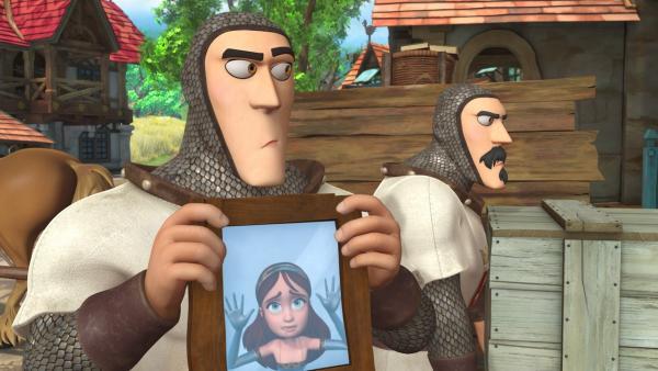 Noch hat keiner gemerkt, dass Marian durch einen verunglückten Zauber in einem Spiegel gefangen ist.   Rechte: ZDF/Method Animation/DQ Entertainment/Fabrique d'images/ZDF Enterprises/De Agostini