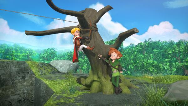 Robin Hood soll aus Prinz John den größten Abenteurer der Welt machen. | Rechte: ZDF/Method Animation/DQ Entertainment/Fabrique d'images/ZDF Enterprises/De Agostini