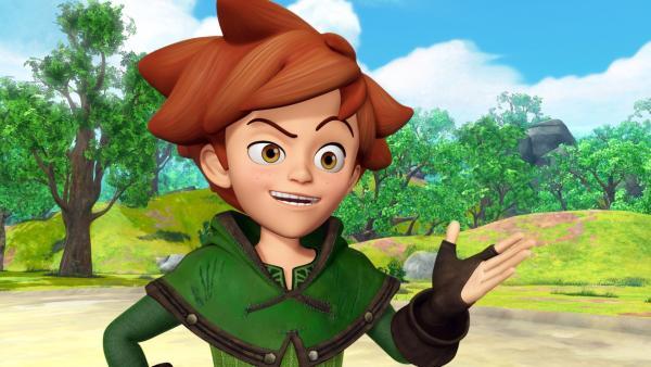 Robin Hood, der mutige Kämpfer für die Gerechtigkeit hat wie immer eine Idee. | Rechte: ZDF/Method Animation/DQ Entertainment/Fabrique d'images/ZDF Enterprises/De Agostini