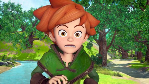Robin Hood soll Prinz John beibringen, ein echter Abenteurer zu werden. | Rechte: ZDF/Method Animation/DQ Entertainment/Fabrique d'images/ZDF Enterprises/De Agostini