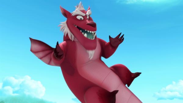 Derke ist wieder ein glücklicher Dache, doch nur für kurze Zeit.  | Rechte: ZDF/Method Animation/DQ Entertainment