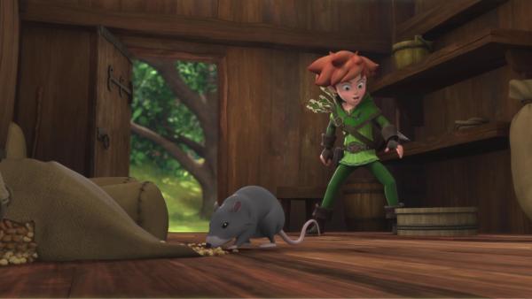 Eine Rattenplage ist auch über die Mühle hereingebrochen.  | Rechte: © ZDF/Method Animation/DQ Entertainment