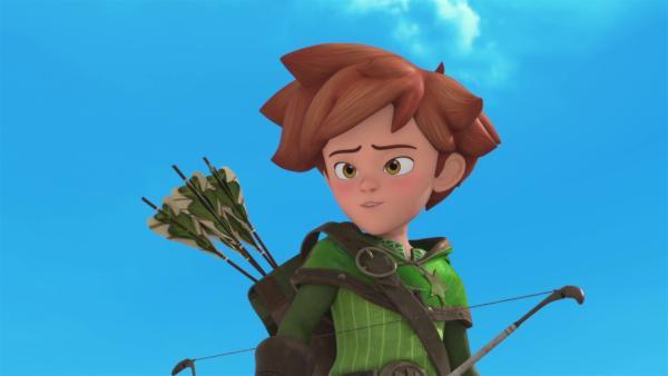 Robin wurde von König Richard zum Sheriff ernannt.    Rechte: © ZDF/Method Animation/DQ Entertainment