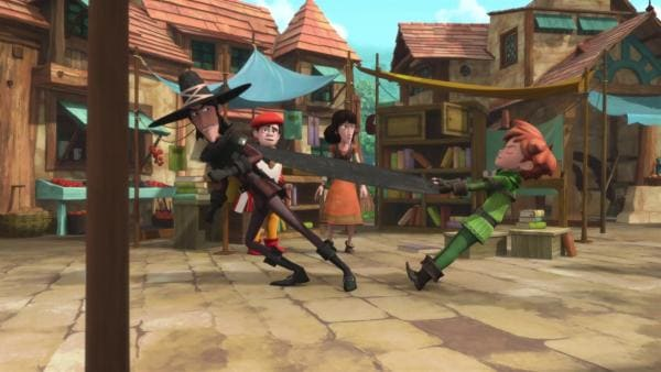 Robin versucht die Ereignisse dieses unglücklichen Tages rückgängig zu machen.    Rechte: ZDF/Method Animation/DQ Entertainment