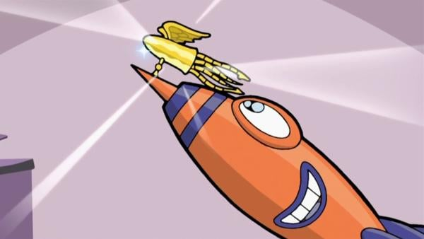 Rocket ist dabei, den Vielfraß-Rekord von Kapitän Goldzahn zu brechen. | Rechte: KiKA/SLR Prod.