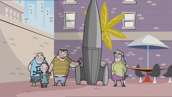 43. Zwei Raketen sind eine zu viel | Rechte: KIKA