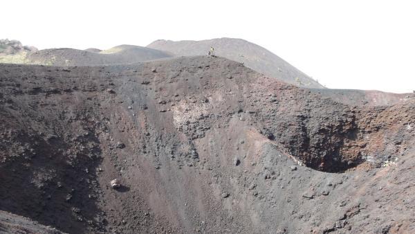 Ein erloschener Krater | Rechte: hr