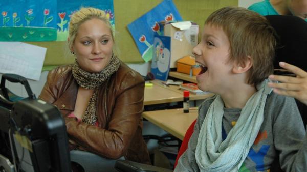 Lisa und Lennart verstehen sich auch ohne viele Worte. | Rechte: MDR/CONDOR Filmproduktion Berlin