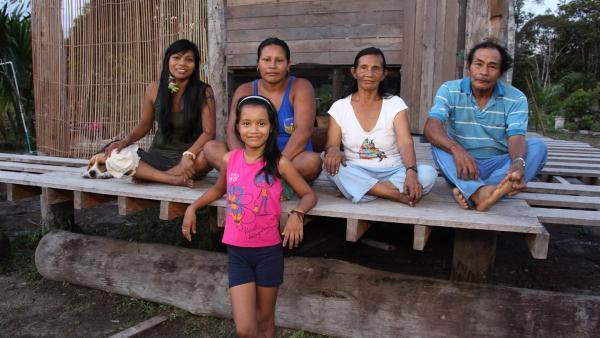 Die Familie von Jessica gehört zum Stamm der Uitoto-Indianer.<br/><br/> | Rechte: RBB/Alexander Preuss