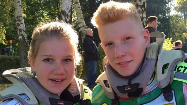 Chayenne und ihr Bruder Marvin | Rechte: MDR/STARSHIP FILM GmbH
