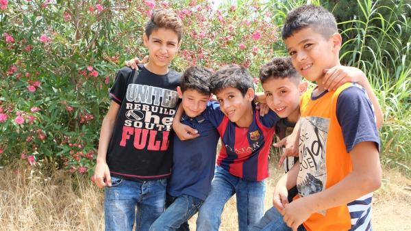 Mohammad und seine Freunde | Rechte: KiKA/Andrea Oster