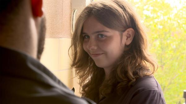 Malvina ist 16 und lebt in Fulda. Den Flüchtlingen gab sie Deutschunterricht und lernte so Diaa kennen. | Rechte: hr