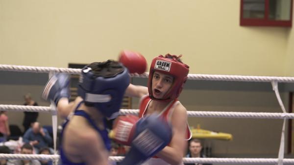 Magomed boxt für eine Zukunft in Deutschland. | Rechte: MDR