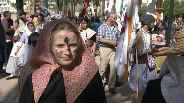 Josephine am großen Festtag nach der Schlacht zwischen Bauern und Piraten | Rechte: ©HR