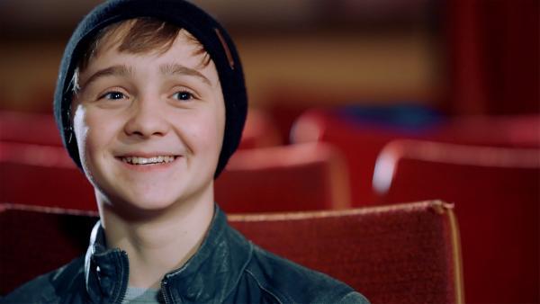 Luis liebt es zu schauspielern. | Rechte: MDR/Cine Impuls