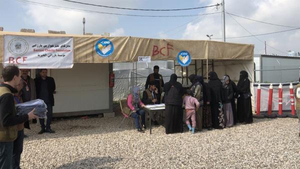 Der Eingang des Flüchtlingscamp | Rechte: hr/Timeline Film+TV Produktion/Guido Holz