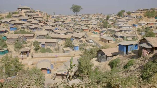 Kutupalong in Bangladesch, das größte Flüchtlingslager der Welt | Rechte: KiKA/hr