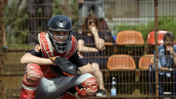 David ist begeisterter Baseballspieler. | Rechte: Radio Bremen/Matthias Kind