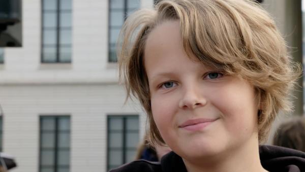 Luis ist 13 Jahre alt und möchte die Klimakrise aufhalten. | Rechte: rbb/Cordula Garrido