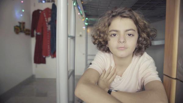 Abdullah macht Streetdance und er hat eine ganz eigene Theorie, warum er tanzt. Immer wenn er Musik hört, ihren Rhythmus, die Beats, drängt es ihn sich zu bewegen und er will tanzen.  | Rechte: hr/Joël Hess
