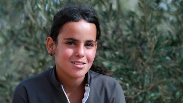 Lina, die Boxerin aus der jordanischen Wüste. Seitdem sie boxt, ist die zwölfjährige Sportlerin nicht mehr schüchtern und kann sich im Alltag besser durchsetzen. | Rechte: SWR/Medea Film Factory