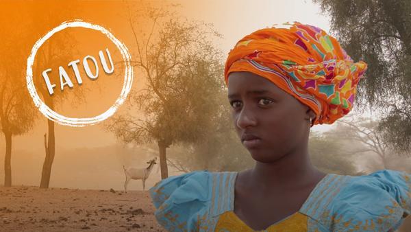 Portrait von Fatou. Die 14-jährige lebt im Senegal am Rande der Sahara. | Rechte: SWR, Irja von Bernstorff