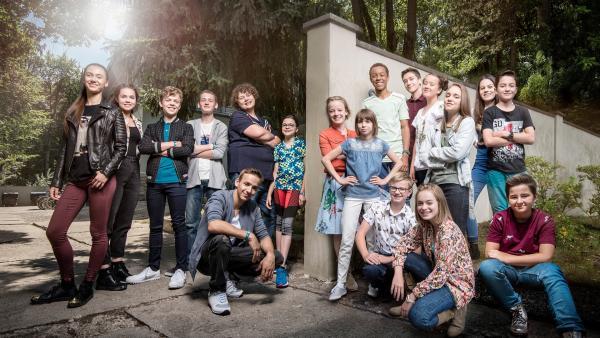"""Links die """"Sportler"""", rechts die """"Einsteiner"""".   Rechte: MDR/Saxonia Media/Felix Abraham"""