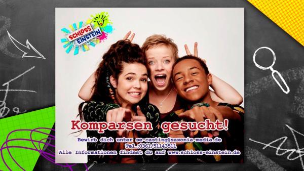 Komparsen gesucht | Rechte: KiKA / Saxonia