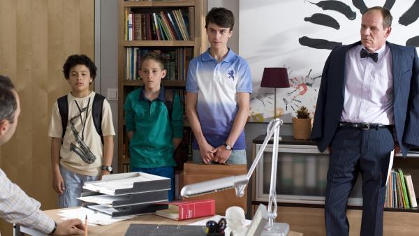 Die Aktion kostet Hubertus seinen Posten als Schülersprecher. | Rechte: MDR/Katharina Simmet