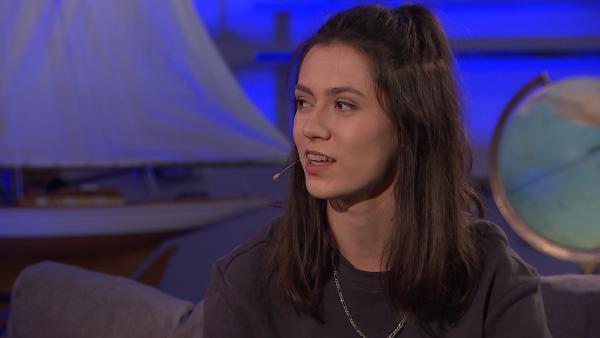 Wie es war, auf dem Bau zu filmen, beschreibt Paloma Padrock (Rolle Carolin Tietz). | Rechte: mdr/MCS