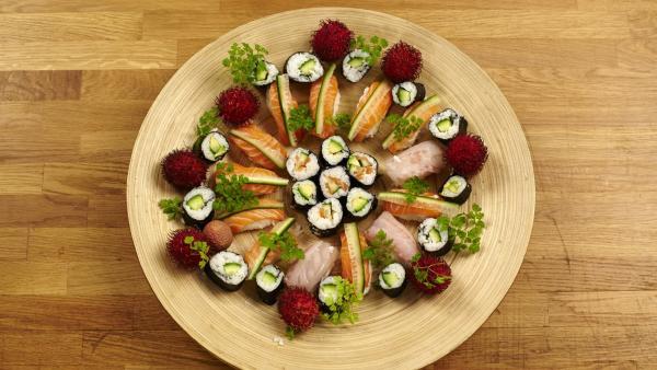 Essen wie in Japan: Sushi | Rechte: ZDF/ORF/René Rothkopf