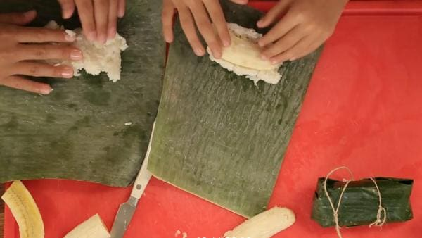 Bananen-Reis-Päckchen | Rechte: ZDF/ORF/René Rothkopf