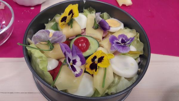Salattorte | Rechte: KiKA/ Hubert Mican