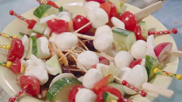 Salat einmal anders | Rechte: KiKA/ Hubert Mican