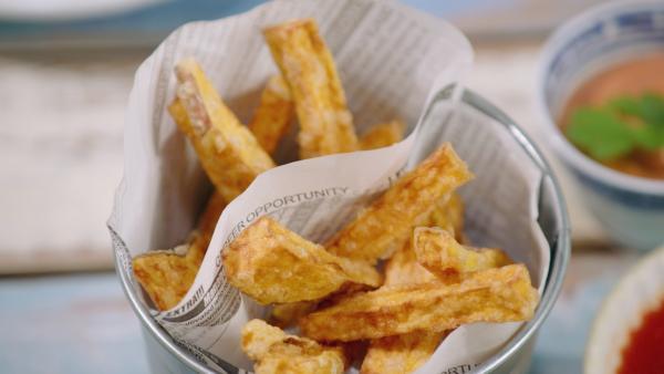 Süßkartoffelpommes | Rechte: ZDF/ORF