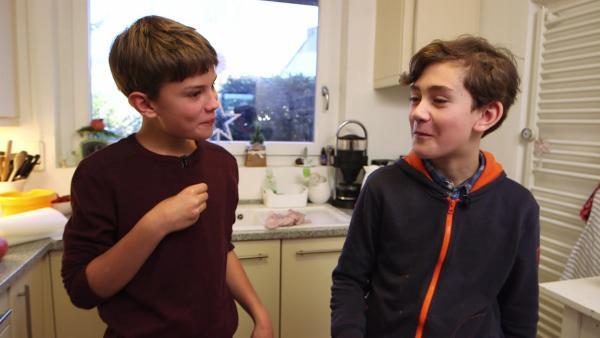 Linus und Michael | Rechte: SWR/Nordisch Filmproduction