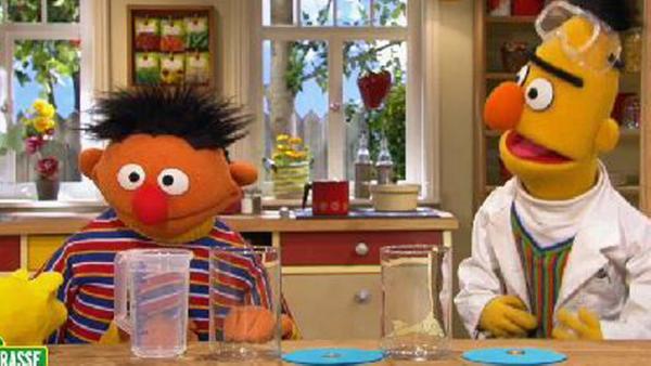 Bert experimentiert. | Rechte: NDR Foto: Screenshot