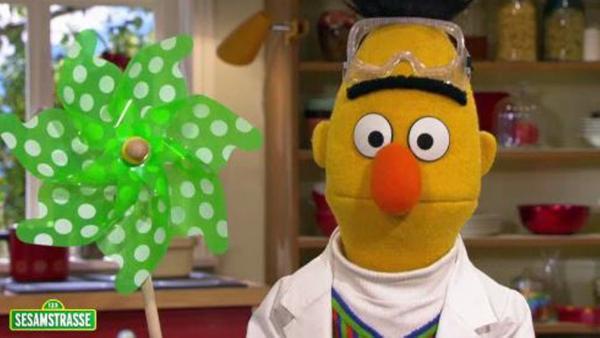 Bert mit Windmühle | Rechte: NDR Foto: screenshot