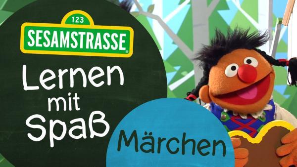 Ernie als Gretel mit Logo   Rechte: NDR Foto: Grafik