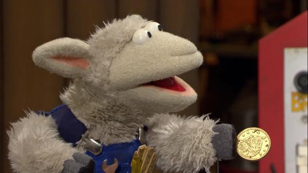 Mit den Möhrentalern will sich Wolle eine neue Hängematte kaufen. | Rechte: NDR/Sesame Workshop