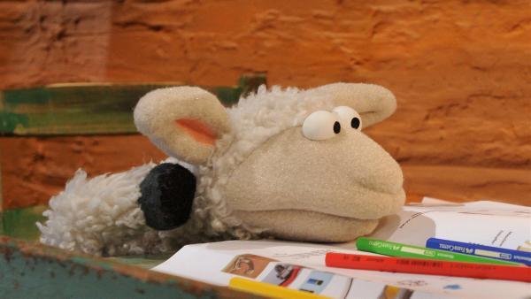 Wolle ist verzweifelt - er will eine Erfindung machen, aber ihm fällt nichts ein. | Rechte: NDR/Uwe Ernst