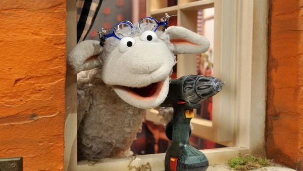 Finchen hat ihre kaputte Spieluhr vorbeigebracht – mal sehen, ob Wolle die wieder hinbekommt.   Rechte: NDR/UWE ERNST