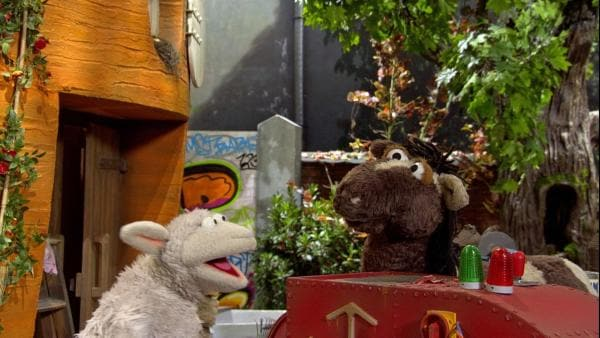 Folge 148: Pferd und Wolle haben sich endlich wieder vertragen | Rechte: NDR/Sesame Workshop