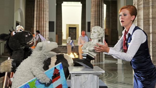 Pferd und Wolle im Museum | Rechte: NDR / Uwe Ernst
