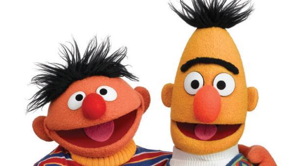ERNIE und BERT aus der Sesamstraße | Rechte: NDR/Sesame Workshop