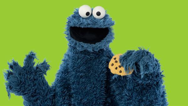 Ob das gut geht? Krümelmonster backt selber Kekse. | Rechte: NDR/Thorsten Jander